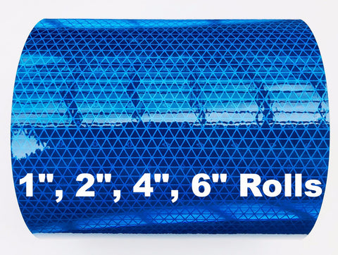 Blue Oralite V98 Conformable Reflective Tape