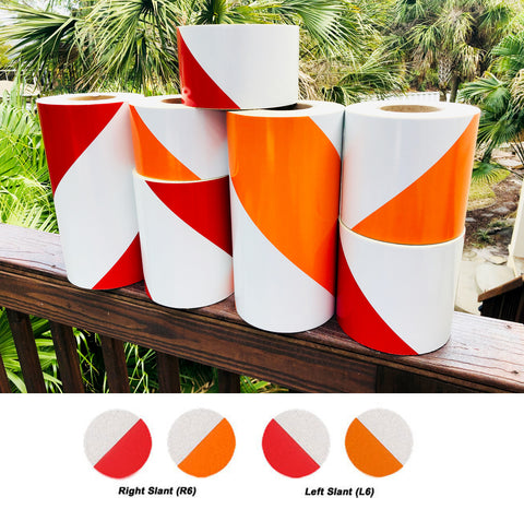 Engineer Grade Type 1 Red Orange White Reflective Barricade Tape