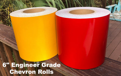 engineer grade nikkalite type 1 chevron striping tape