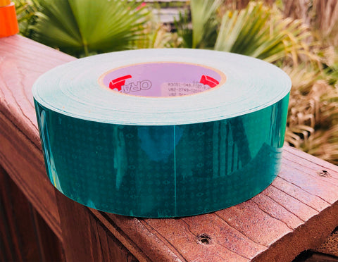 Green Oralite V82 Prismatic Reflective Tape