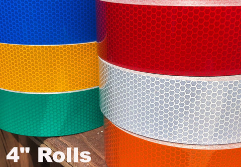 Type 3 High Intensity Reflective Tape Red Yellow Green