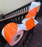 Type 4 HIP HIM Reflective Barricade Tape
