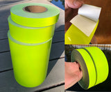 "4"" Flexible Engineer Grade Tape Rolls - 30' & 150' Rolls"