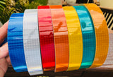 Red Orange Blue Green Yellow Oralite V82 Reflective Tape