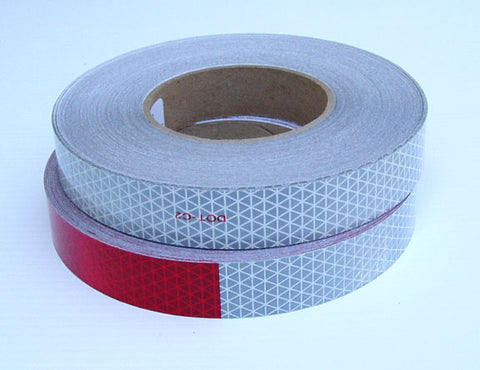 6 inch red 6 inch white Oralite v92 dot tape