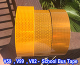 Oralite V59 V99 V82 Prismatic Bright School Bus Reflective Tape