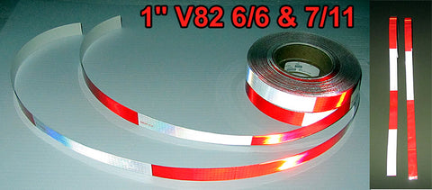 V82 Oralite DOT C2 One Inch Reflective Tape