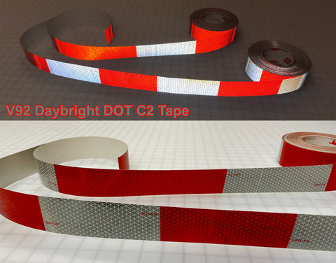 oralite dot reflective truck tape