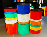 "3"" Oralite V92 Daybright Prismatic Tape Rolls - 30' & 150' Rolls"