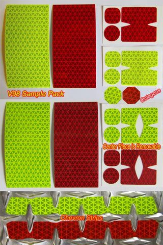 reflective diamond plate free sample pack