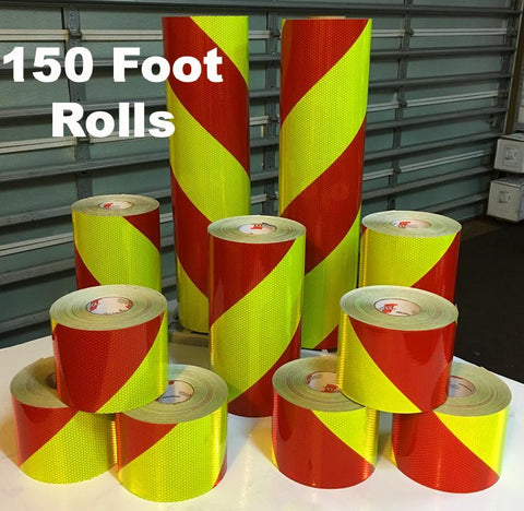 150 foot rolls Oralite V98 Chevron Reflective Tape