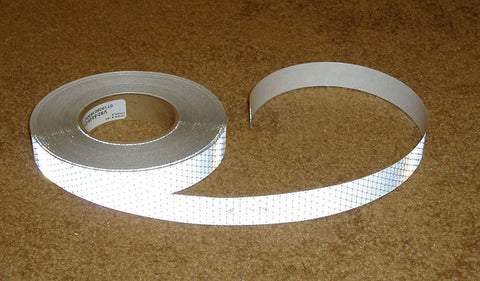 Solid White Oralite DOT Tape.