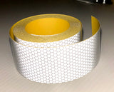 "2"" (Stretchable) High Intensity Reflective HARD HAT Tape - 30' & 150' Rolls"