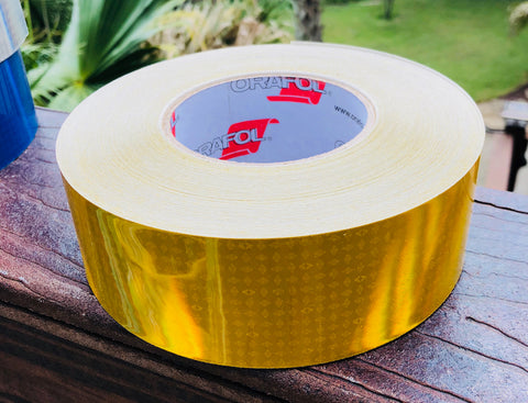 Standard Yellow Oralite V82 Prismatic Reflective Tape