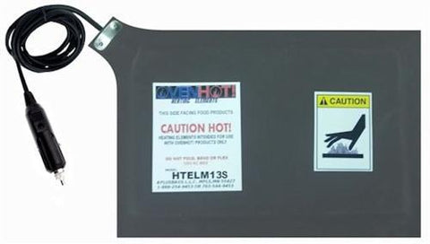 "HTELM13S 13"" Heating Element w/Detatchable Cord - Ultimate Pizza Bag"