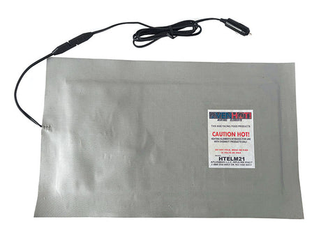 "HTELM21S 21"" Heating Element w/Detatchable Cord - Ultimate Pizza Bag"