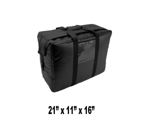 UP-LGSBHCMW - Small Hot or Cold Insulated Food Delivery Bag (Packed 2 Per Case -- Unit Price: $57.99) - Ultimate Pizza Bag