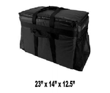 UP-LPT4XL - Large Heavy Duty Catering Pan Carrier Bag, Black (Price Delivered Packed 2 Per Case -- Unit Price: $63.99) - Ultimate Pizza Bag