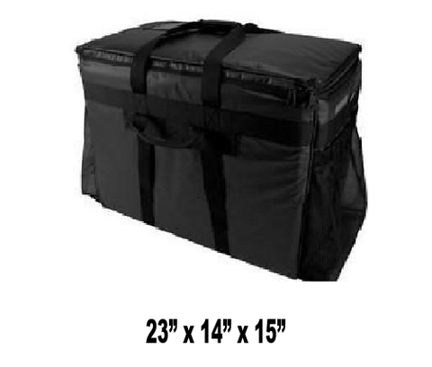 LXDI - Large Delivery Bags (Packed 2 Per Case -- Unit Price: $55.99) - Ultimate Pizza Bag