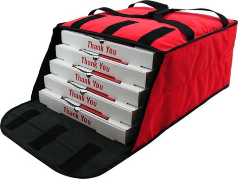 UP-PF4/1618D - Fabric Deluxe Pizza Bag (Packed 5 Per Case -- Unit Price: $22.99) - Ultimate Pizza Bag