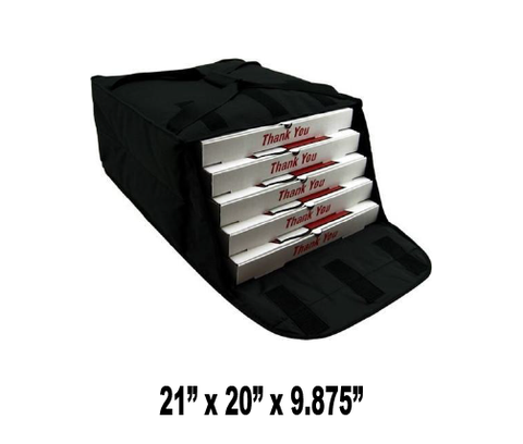 "UP-PF4/20B - Large Fabric Pizza Bag, Holds 4-5 20"" Pizzas (Packed 4 Per Case -- Unit Price: $28.99) - Ultimate Pizza Bag"
