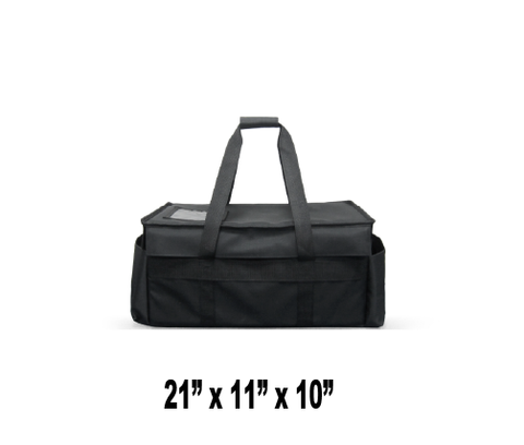 UP-SHXV -  Small Restaurant Delivery Bag  (Packed 2 Per Case -- Unit Price: $53.99) - Ultimate Pizza Bag