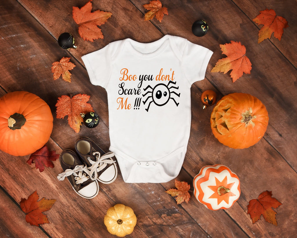 Halloween Onesie Bodysuit/Halloween Outfit/Spider Halloween/Baby Halloween/Cute Spider/Custom Onesie/ Custom Bodysuit/Halloween Photo Prop