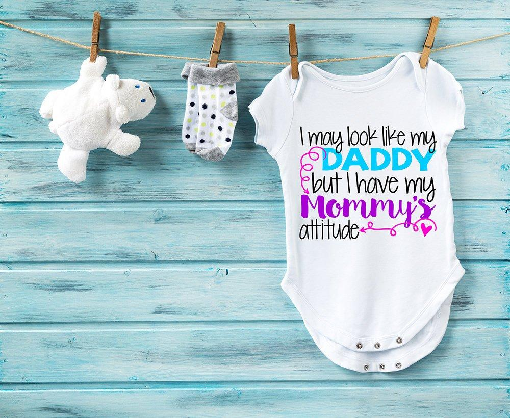Baby Bodysuit, Funny Baby Clothes, Baby Gift, Trendy Baby Clothes, Cute Baby Outfit, Baby Shower Gift, Mommys Attitude
