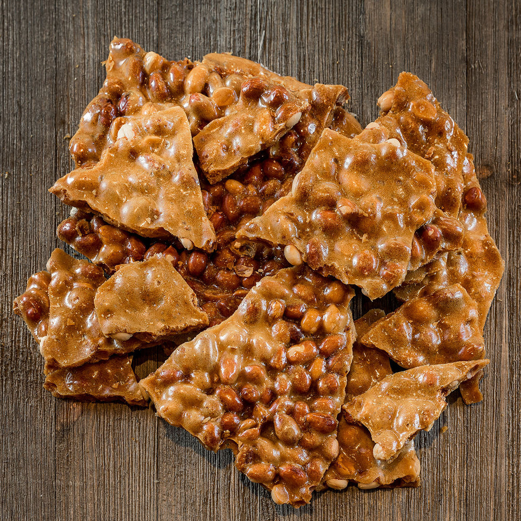 Coconut Peanut Brittle