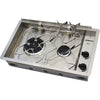 Dickinson Marine Two Burner Propane Drop In Cooktop