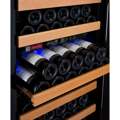 "Vite Series 24"" Wide Dual Zone Wine Refrigerator - 99 Bottles"