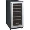 FlexCount Series Dual Zone Wine Refrigerator - 30 Bottles