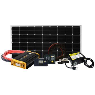 Go Power RV Solar Weekender ISW Kit 170 Watts