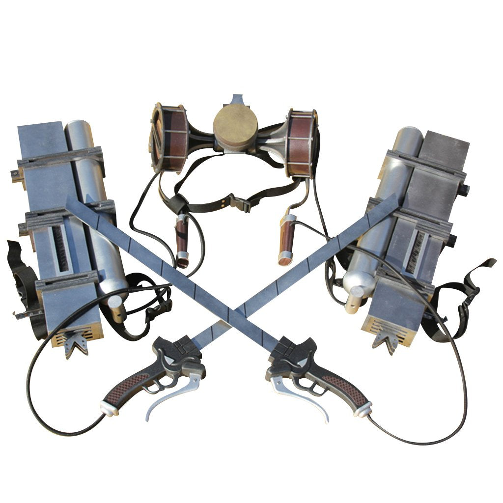 Attack On Titan Cosplay Prop Eren Yeager Vertical Maneuvering Equipment