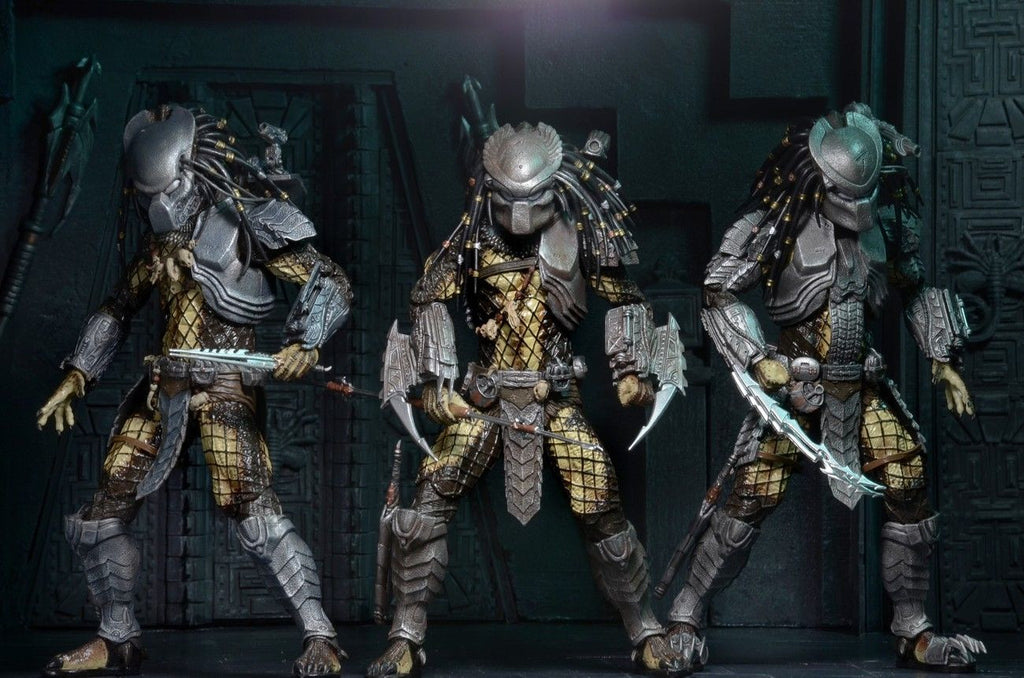 Predator - 7″ Scale Action Figure - Masked Scar Predator - Alien vs Predator Movie Series 15 Assortment - NECA 51531