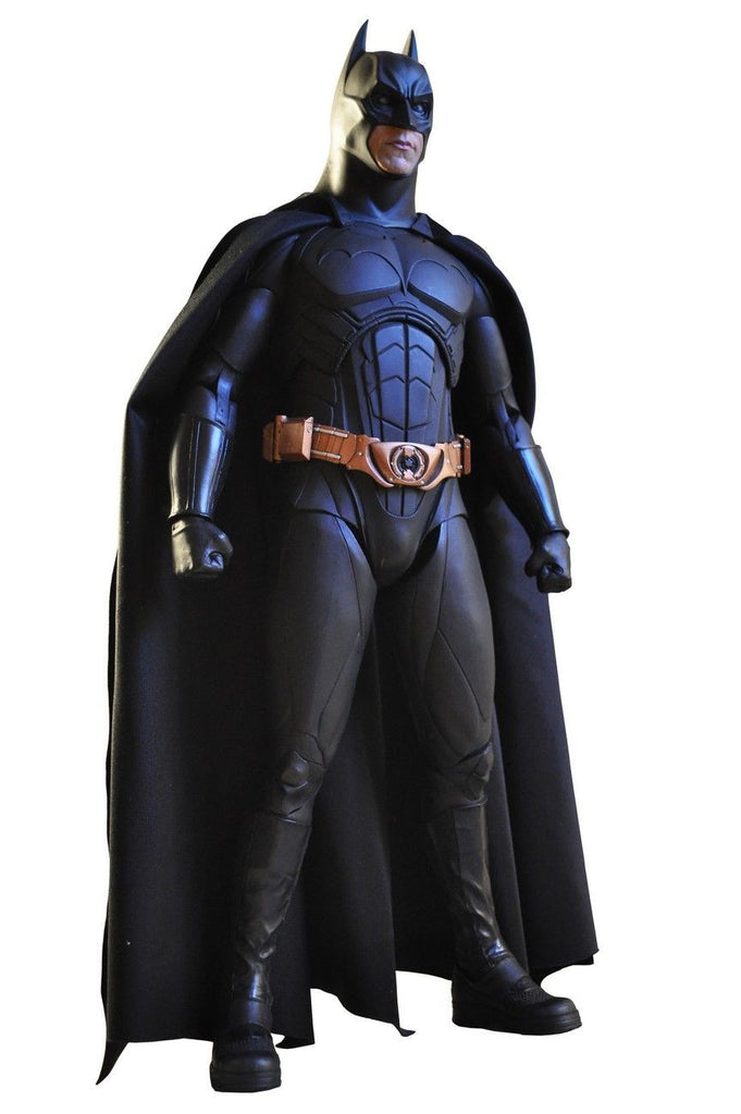 "NECA 1/4 SCALE 18"" INCH DARK KNIGHT TRILOGY MOVIE - BATMAN BEGINS CHRISTIAN BALE BATMAN ACTION FIGURE NECA reel toys."