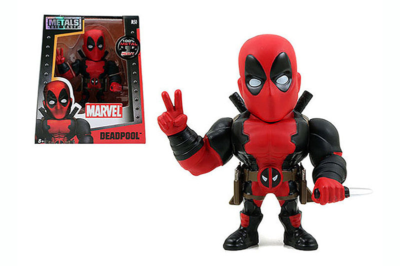 "Captain America: Civil War - 4"" Deadpool Figure - Jada Toys"