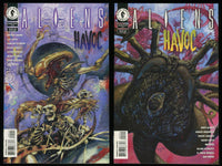 Aliens Havoc 1997 Comic set 1-2 Lot Dark Horse Sergio Aragones Gary Gianni art