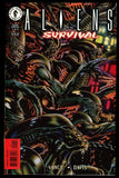 Aliens Survival 1998 Comic full set 1-2-3 Lot Dark Horse Tony Harris cover art