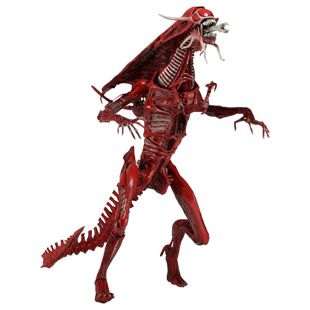 Aliens ultra deluxe boxed 15 action figure genocide red alien aliens ultra deluxe boxed 15 action figure genocide red alien queen neca altavistaventures Choice Image