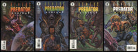 Aliens vs Predator Eternal Comic set #1-2-3-4 Lot Dark Horse 1998 AvP Maleev art