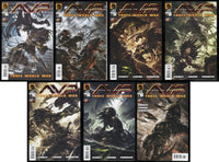 Aliens vs Predator Three World War Full Comic Set 1-2-3-4-5-6 Lot + Variant Avp