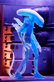 "Aliens - 7"" Scale Action Figure - Series 11 - Kenner Blue Warrior Alien - NECA - 51634"