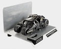 The Dark Knight Trilogy Batmobile Authentic Batman Movie Cape Material 1/18 Diecat Model Car, Black Mattel BCJ99