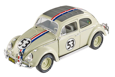 Mattel Hot Wheels Elite - Herbie Goes to Montecarlo Volkswagen #53 1962, 1/18 scale diecast model car BLY22