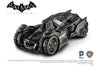 Batman Arkham Knight Batmobile Mattel Hot Wheels Elite 1/18 Scale Diecast Model Car Black BLY23