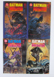 Batman vs Predator #1 #2 #3 Complete Series w/ Both #1's All Signed Suydam DC Comics