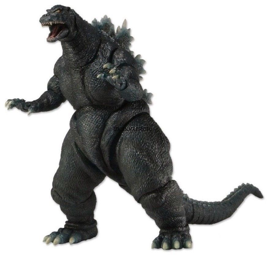 "Godzilla - Classic Series 1 - 1994 Godzilla Action Figure 12"" Head To Tail - 42809 NECA"