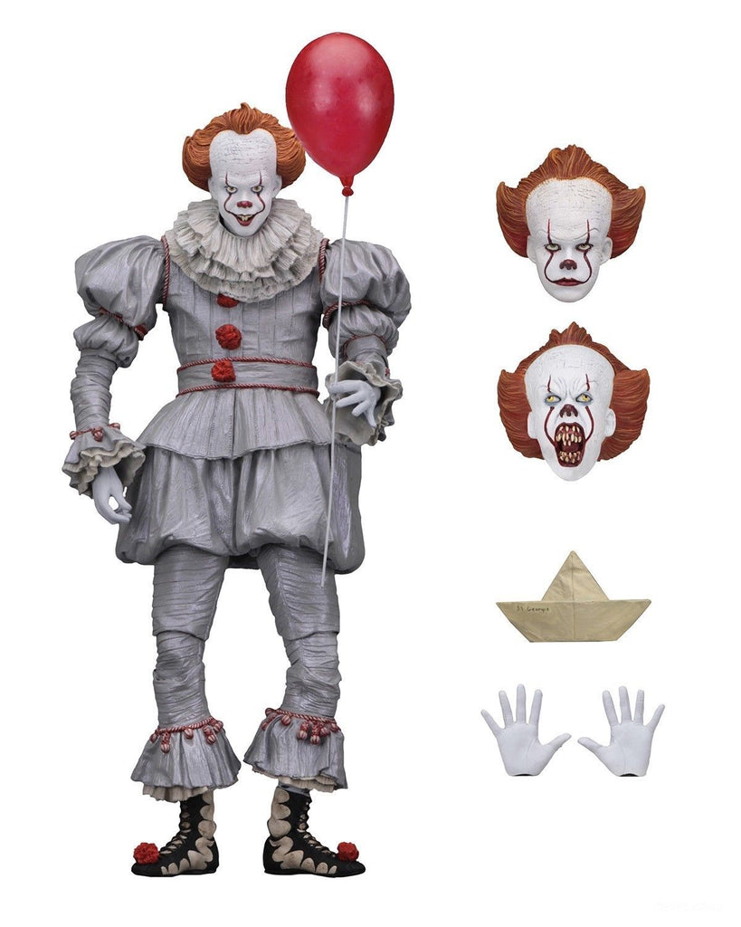 "IT - 7"" Scale Action Figure - Ultimate Pennywise 2017 – 45461 NECA"