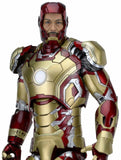 Iron Man 3 – 1/4 Scale Action Figure – Iron Man Mark 42 (XLII) with LED Lights - NECA